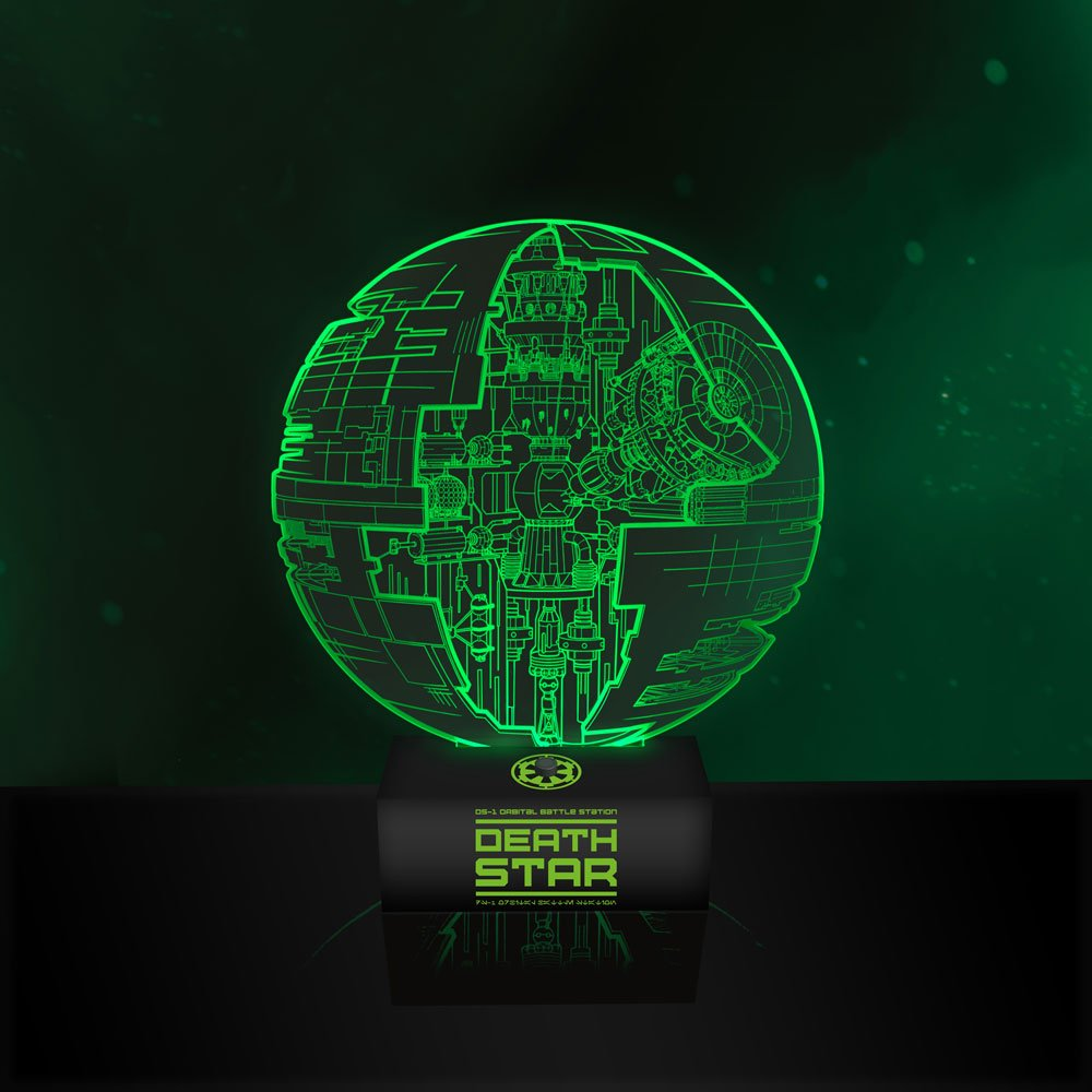 lampe star wars death star - deriv'store