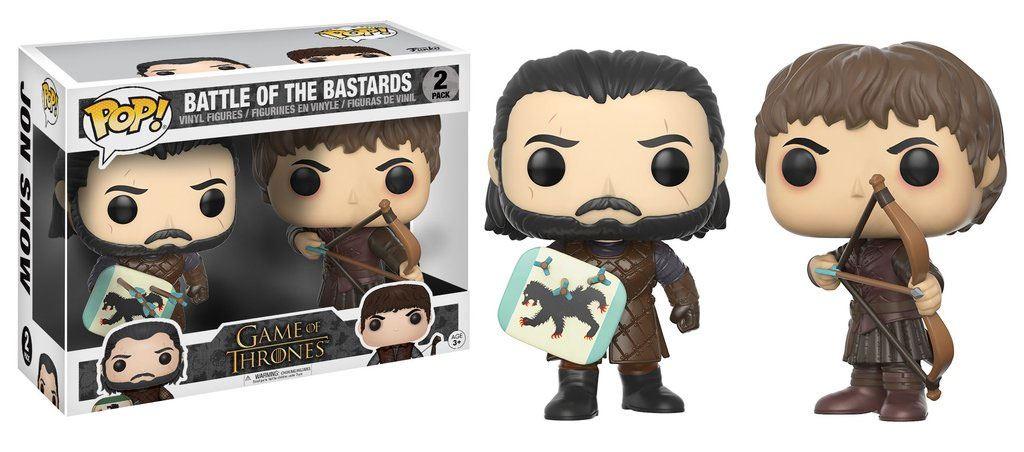 Pack 2 Pop Figurines Battle Of The Bastards Deriv Store