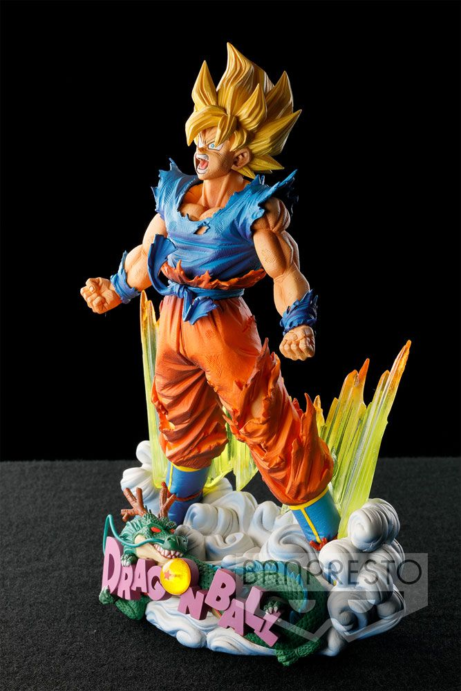 figurine super master stars piece goku deriv 39 store. Black Bedroom Furniture Sets. Home Design Ideas