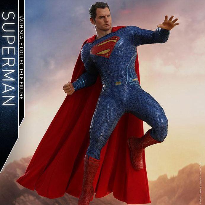 Figurine Hot Toys Superman Justice League - Deriv Store c25ce4104bf