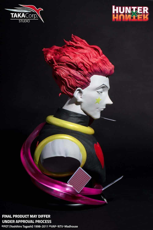 Buste Hisoka Taille Reelle Taka Corp Deriv Store Les Specialistes En Figurines Produits Derives Geek
