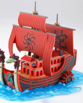 Figurine Plastic Model Kit Kuja Pirates Ship One Piece