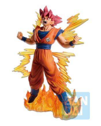 Statuette Ichibansho Super Saiyan God Goku