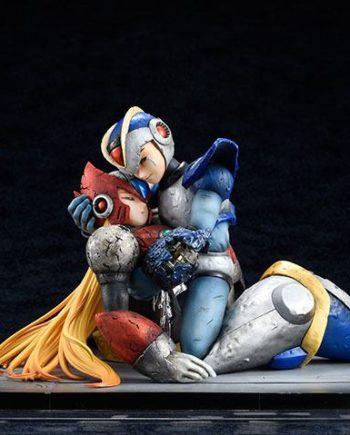 Statuette Mega Man et Zero