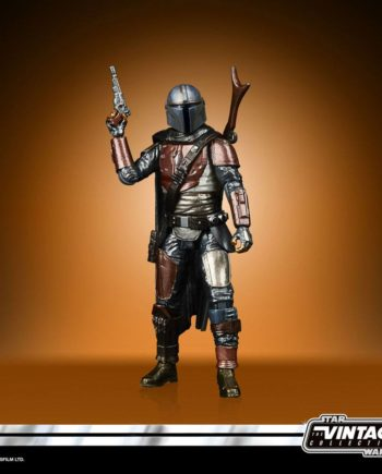 Figurine The Mandalorian Carbonized
