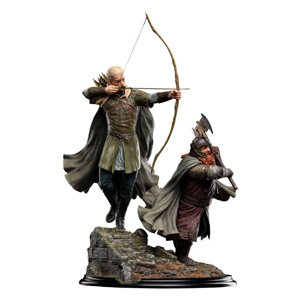 Statuette Legolas and Gimli at Amon Hen