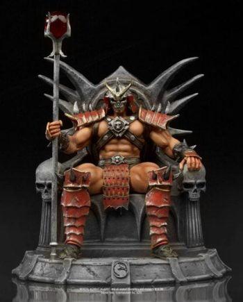Statuette Shao Khan Deluxe Art Scale Mortal Kombat