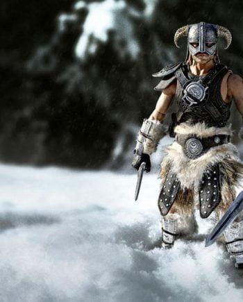 Figurine Dragonborn Deluxe Edition Skyrim