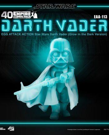 Figurine Darth Vader Glow In The Dark Star Wars Egg Attack