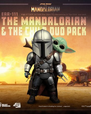 Figurines Egg Attack Action The Mandalorian & The Child Star Wars