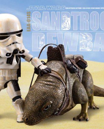 Pack 2 figurines Dewback & Sandtrooper Star Wars