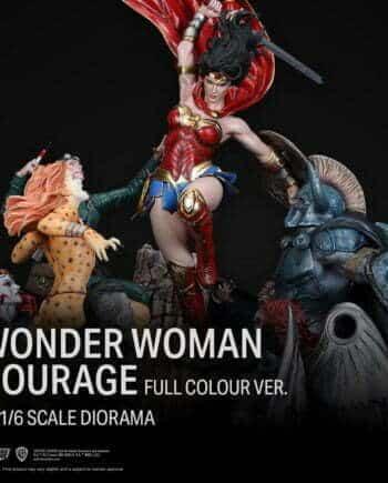 Diorama Wonder Woman Courage XM Studios Colour