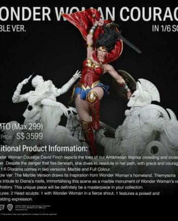 Diorama Wonder Woman Courage XM Studios Marble