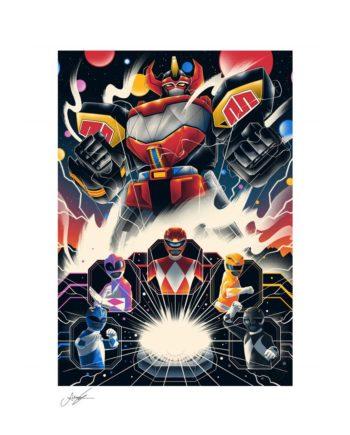 Art Print Power Rangers