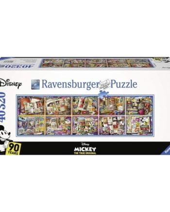 Puzzle Mickey au fil des années