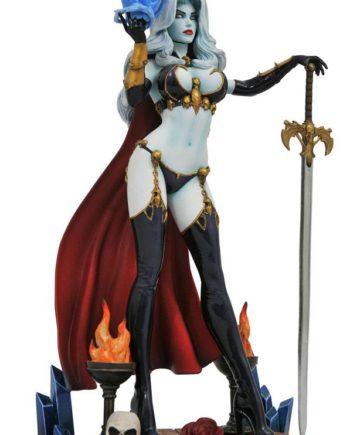 Statuette Lady Death IV Femme Fatales