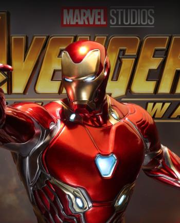 Statuette Iron Man Mark L 50 1/4 Queen Studios